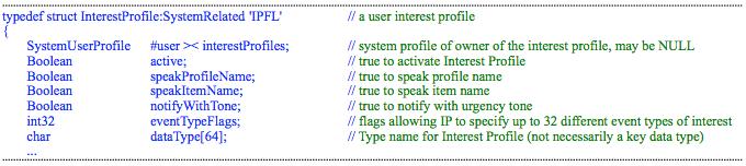 InterestProfile