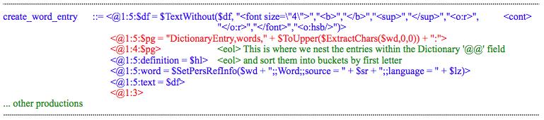 DictionaryScript